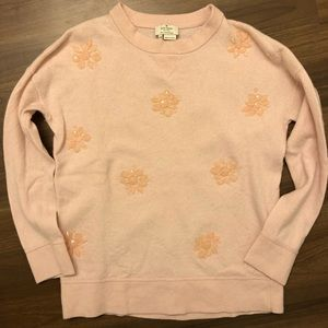 Size XS Kate Spade Sweater in Petal Pink